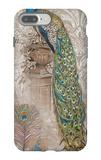 Peacock on Linen 2