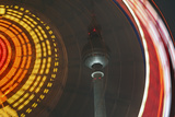 Germany  Berlin  Television Tower  Ferris Wheel  Night