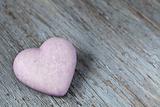 Purple Heart on Wood