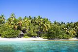 The Maldives  Sea  Palms  HŸtte (Hut)