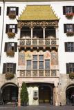 Austria  Tyrol  Innsbruck  Old Town  Goldenes Dachl (Golden Roof)