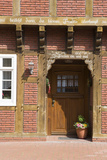 Germany  Artland  Gehrde  Half-Timbered House  Detail  Front Door