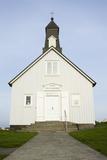 Iceland  Reykjanes  Wooden Church Strandarkirkja