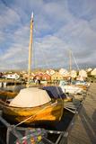 Sweden  BohuslŠn  HŠlleviksstrand  Harbour  Boats  Houses