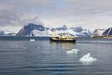 Norway  Spitsbergen  Hornsund  Expedition Ship 'Origo'