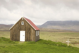 Iceland  Reykjanes  Wooden Church Krysuvikurkirkja