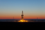 Europe  Germany  Lower Saxony  Deep Drilling Plant  Sunrise
