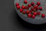 Still Life  Berry  Red  Bowl  Gray  Black  Still Life