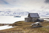 Norway  Spitsbergen  Kongsfjord  Camp Mansfield  Blomstrand