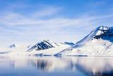 Norway  Hornsund  Winter Scenery