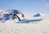 Norway  Hornsund  Winter Landscape
