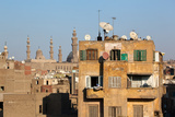 Egypt  Cairo  View from Mosque of Ibn Tulun on Old Town Facades