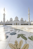 Inner Courtyard  Sheikh Zayed Bin Sultan Al Nahyan Moschee  Al Maqtaa