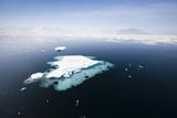 Norway  Storfjord  Drift Ice