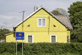 Lithuania  Siauliai  Wooden House Facade