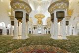 Chandelier in Prayer Hall  Sheikh Zayed Bin Sultan Al Nahyan Moschee  Al Maqtaa