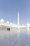 Inner Courtyard  Sheikh Zayed Bin Sultan Al Nahyan Mosque  Al Maqtaa