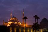 Egypt  Cairo  Landmark  Citadel with Mohamad Ali Mosque  Dusk