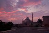 Egypt  Cairo  Landmark  Citadel with Mosque of Muhammad Ali  Dusk