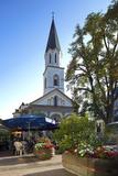 Luxembourg  Ettelbruck  Centre  Bar  Church