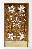 Wooden Door with Ornaments  Sheikh Zayed Bin Sultan Al Nahyan Mosque  Al Maqtaa
