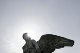 Angel's Wing, Statue, Copenhagen, Denmark, Scandinavia Papier Photo par Axel Schmies