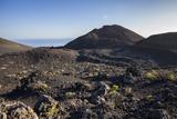 Volcano Landscape Between the Two Volcanoes San Antonio and Teneguia  La Palma  Spain