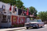 USA  Arizona  Historical Route 66  Seligman  Street Scene