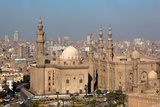 Egypt  Cairo  Citadel  View at Mosque-Madrassa of Sultan Hassan