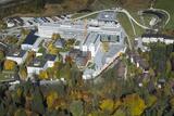 Hospital  Garmisch-Partenkirchen  Aerial Shot  Bavaria  Autumn Mood