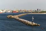 Lithuania  Klaipeda (Memel)  Harbour  Kopgalis