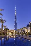 Burj Khalifa  the Highest Tower of the World  Night Photography