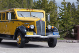 USA  Yellowstone National Park  Park Vehicle