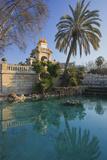 Spain  Catalonia  Barcelona  Parc De La Ciutadella  Wells  Palm