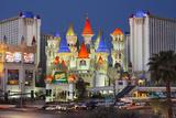 Excalibur Hotel  Strip  South Las Vegas Boulevard  Las Vegas  Nevada  Usa
