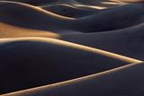 USA  America  Death Valley  Desert  Mesquite  Dunes  Light  Evening  Structures  Mood