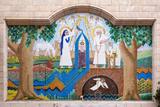 Egypt  Cairo  Coptic Old Town  Church El Muallaqa  the Hanging Church  Mosaics of Biblical Scenes