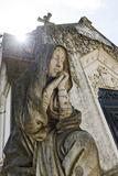 Historical Cemetery  Tomb  Burial Chamber  Statue  Cemiterio Dos Prazeres