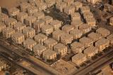Egypt  Cairo  Aerial Shot  Apartment Blocks