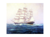 Clipper Cutty Sark Giclée par Frank Vining Smith