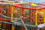 South Africa  Houtbay  Harbour  Lobster Pots