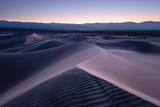 USA  America  California  Death Valley  Dunes  Mesquite  Blue  Hour  Mood  Dusk