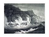 The Loss of Albion  Packet Ship