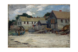 Swampscott Village Giclée par Charles Woodbury