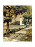 Bioloxi Lighthouse  Biloxi  Mississippi