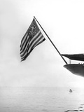 Flag on the Stern of the Corsair