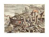 Building the Ark: Nec Mora Continuo Exequitor Noe Iussa Tonantis