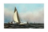 Cutter Yacht Volunteer 1887