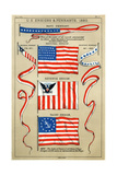 US Ensigns and Pennants 1880