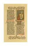 Illuminated Manuscript: Breviary Harley Ms 2897 from the First Series